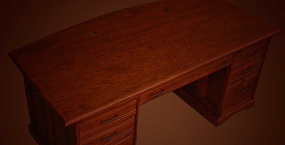 wooden table french polish